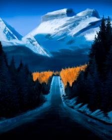 Горний пейзаж
