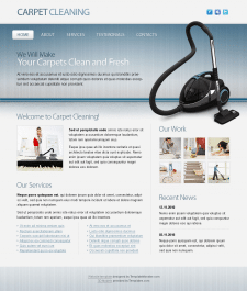 Интернет страница из PSD шаблона