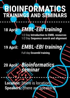 Постер для научного семинара