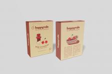 Разработка дизайна для упаковки конфет.