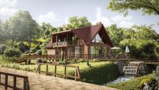 Комплекс отдыха, Литва | Визуализация