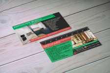 Дизайн визитки.