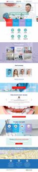 Разработка сайта на WP для стоматологии