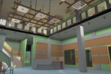 Будівля проектної організації (інтер'єр)