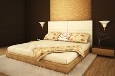 Фрагмент спальни