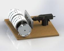 V-gate magnet motor