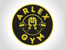 """Логотип для спортивного зала """"Arlex Gym"""""""