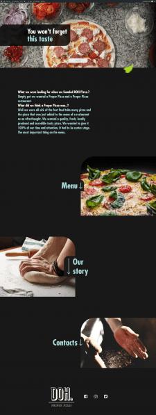 Верстка и посадка страницы на WordPress
