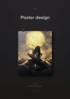 Dark poster design