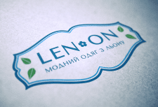 Логотип для бренда «Len On»