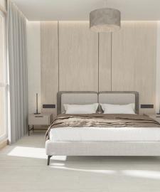 Дизайн проект спальни,3д модел-ние и виз-ция.
