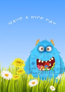 "Иллюстрация ""Have a nice day"""