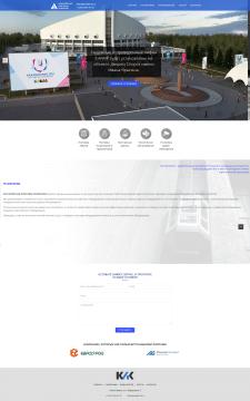 Корпоративный сайт для лифтостроительной компании