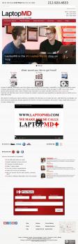 LaptopMD - компания из Нью-Йорка