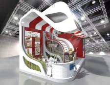 Выставочный стенд-Картонное производства-40м