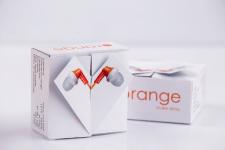 """Упаковка для наушников """"orange"""""""