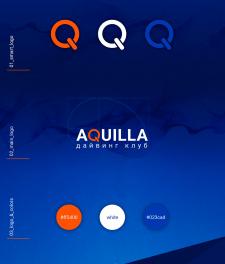 "Логотип Дайвинг клуба ""Aquilla"""