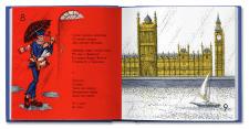 Иллюстрации и верстка книги С. Маршака «Почта»