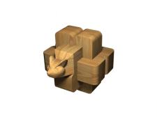 низкополигонная модель для флеш