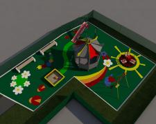 Эскизный проект детской площадки