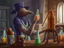 лаборатория алхимика