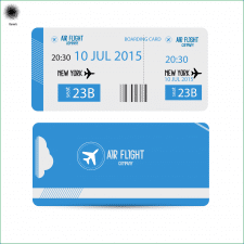 Билет для авиакомпании