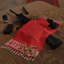 M4 Rifle and some other items