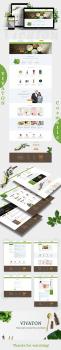 Дизайн интернет магазина Vivaton