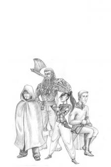 Персонажи для книги Ильи Шумея