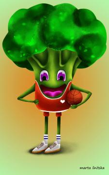 broccoli art