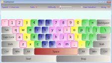 Клавиатурный тренажёр. Разработан на WPF.