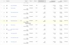 Настройка Google Adwords-Интернет-маг бижутерии