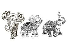 Иллюстрация слоны