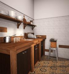 Дизайн, Моделилирование и рендеринг кухни
