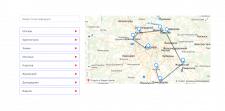 Редактор маршрутов (API Яндекс.Карт)