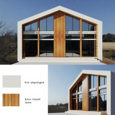 3D візуалізація магазину ззовні з розробкою дизайн