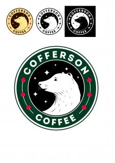 Дизайн логотипа/ логотип кофейни