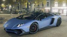 Lamborghini Aventador SV Roadster, visualization