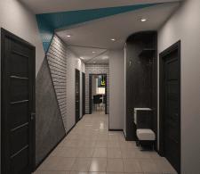 Прихожая,проект 3-к квартиры,г.Киев