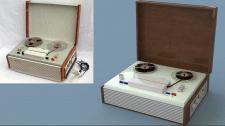 Анимированная 3D модель Звукозаписывающего устр.