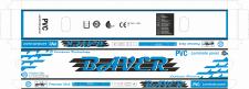 Упакування для ламінованої підлоги BAVER 2