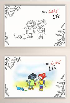Дизайн персонажей к детской книге