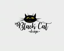 """Логотип """"BlacK Cat"""""""