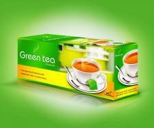 Дизайн коробки для чая