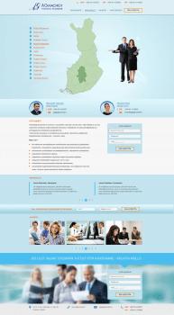 Разработка Landing Page для компании  FIN