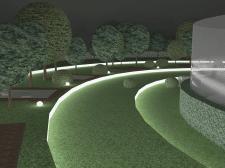 Зимний сад (ночь)