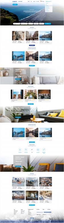 Дизайн сайта для тур агенства