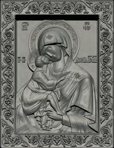 Икона Донской Божьей матери (под ЧПУ)