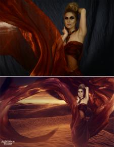 Восточные танцы (До и после)