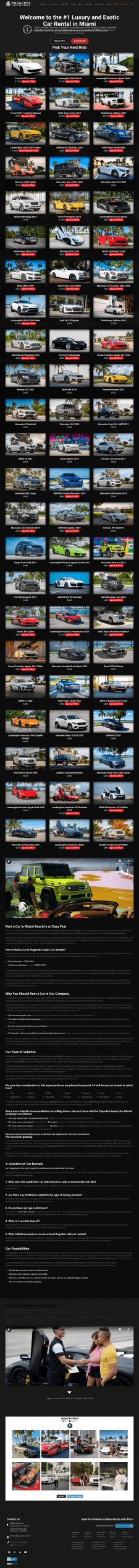 Car Rental in Miami